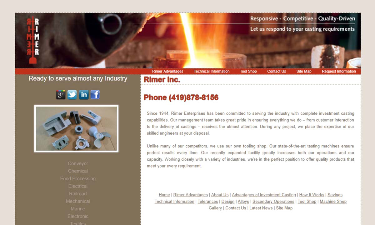Rimer Enterprises, Inc.
