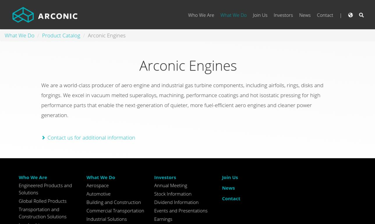 Arconic Power and Propulsion