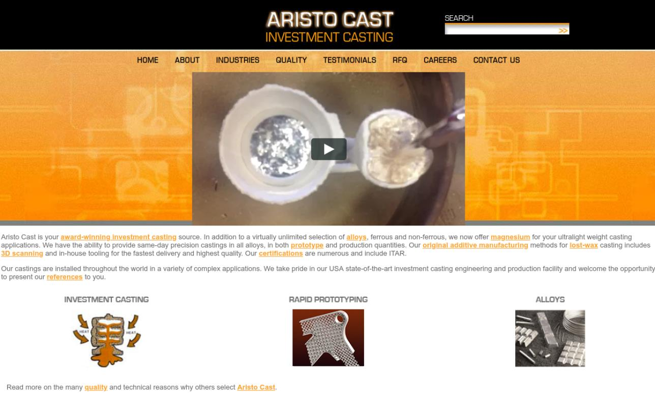Aristo Cast, Inc.
