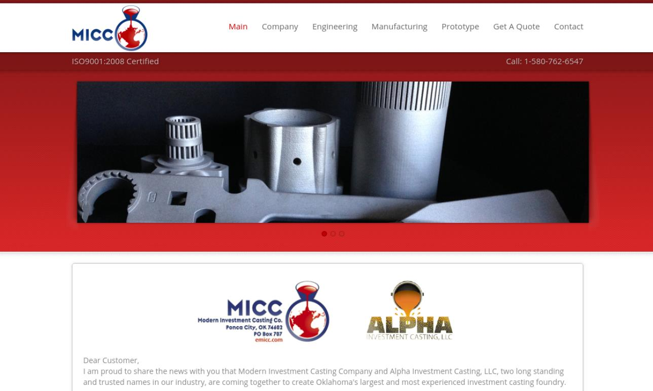 Modern Investment Casting Company