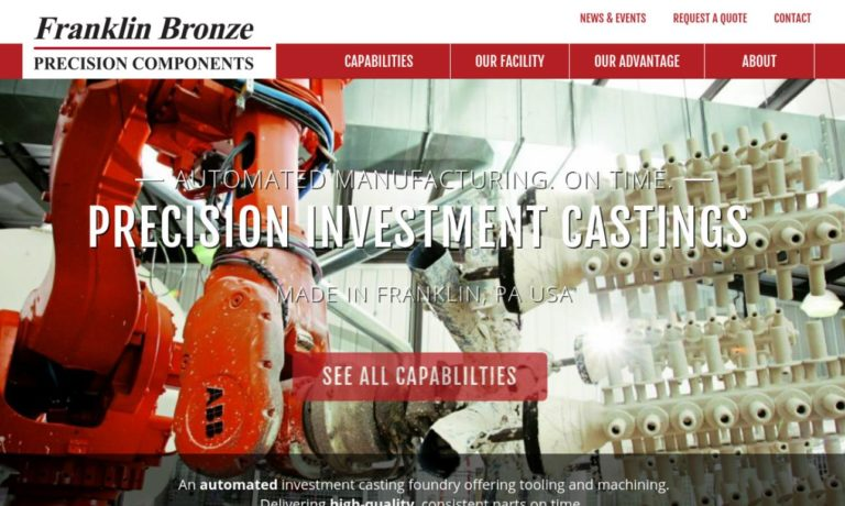Franklin Bronze Precision Components