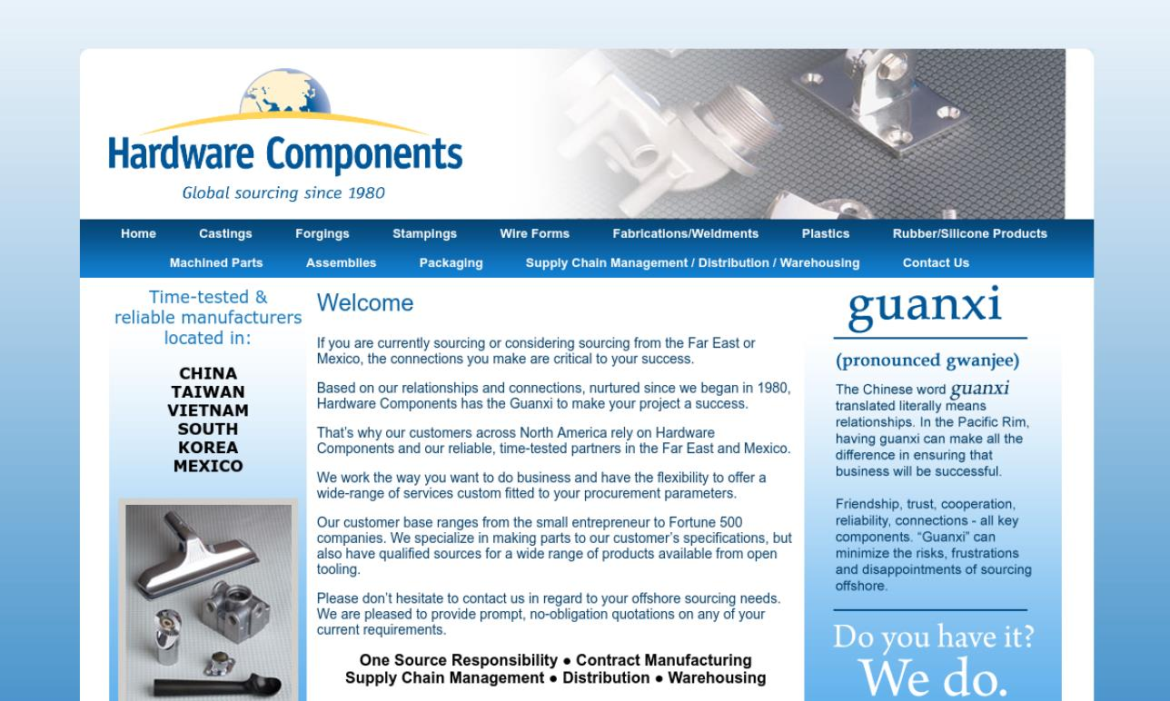 Hardware Components Inc.