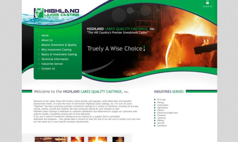 Highland Lakes Quality Castings, Inc.