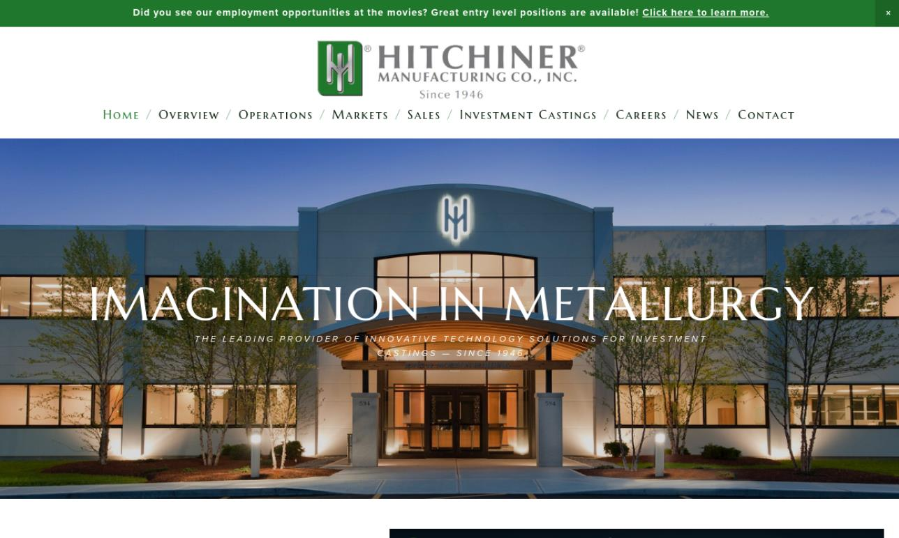Hitchiner Manufacturing Co., Inc.