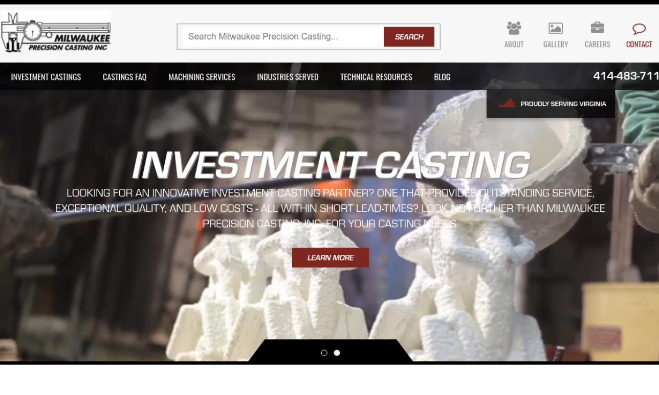 Milwaukee Precision Casting, Inc.