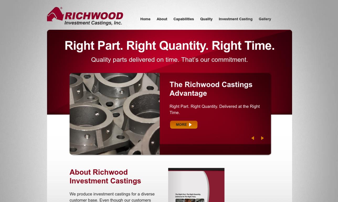 Richwood Investment Casting, Inc.