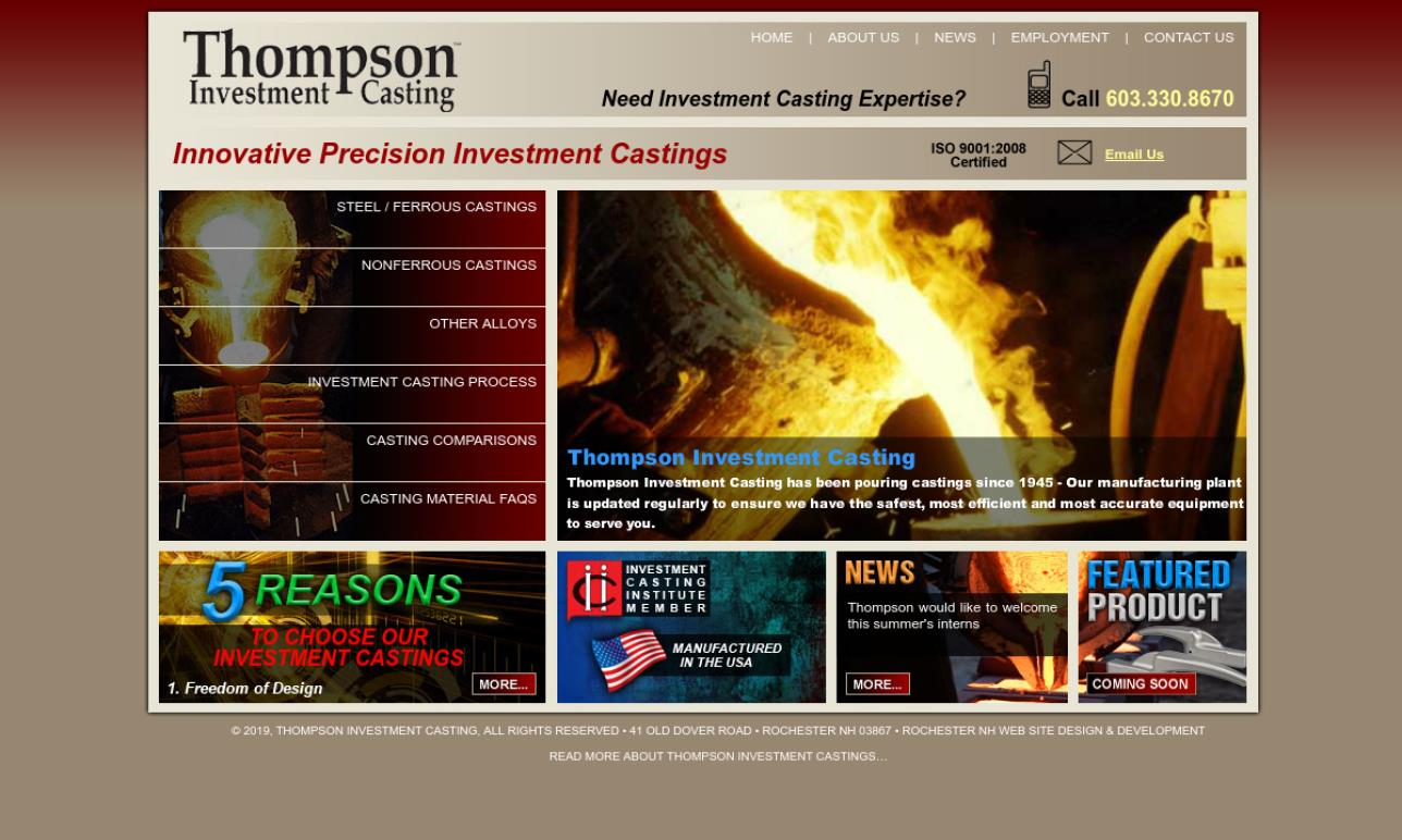 Thompson Investment Casting