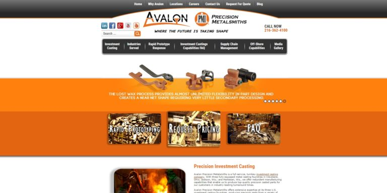 Avalon Precision Metalsmiths